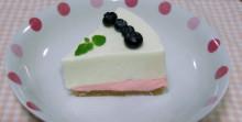 はるかのひとりごと-ブルーベリーチーズケーキ