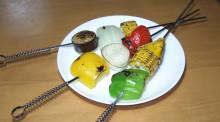 はるかのひとりごと-夏野菜のバーベキュー