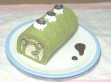 はるかのひとりごと-超簡単!抹茶のロールケーキ