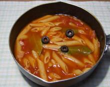 はるかのひとりごと-ペンネのトマトスープ