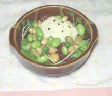 はるかのひとりごと-豆サラダ