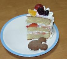 はるかのひとりごと-ケーキの中