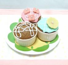 レースシュガーのカップケーキ