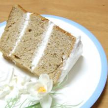 はるかのひとりごと-カモミールのシフォンケーキ