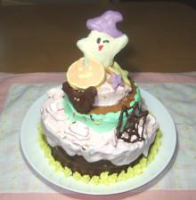 はるかのひとりごと-ハロウィンケーキ