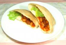 インゲンマメのピタパン