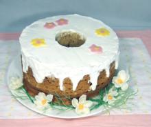 カモミールのシフォンケーキ