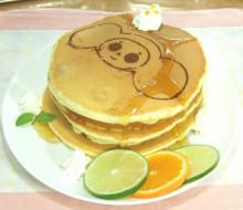 チェブラーシカのパンケーキ(追記:初音ミク千本櫻弁当)