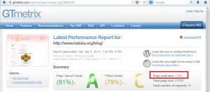 Webページの表示速度について