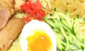 サッパリ胡麻ダレ風味のサラダ冷し中華-アップ