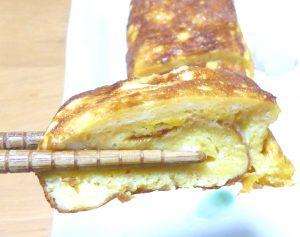 リョウの卵焼き箸上げ画像