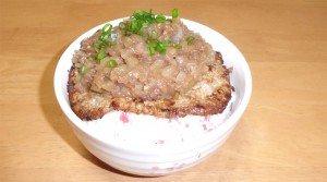 ゆきひら流シャリアピンステーキ丼