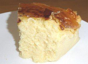 ベイクドチーズケーキしっとり1