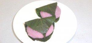 道明寺桜餅-皿1