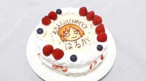 琴浦春香の誕生日ケーキ