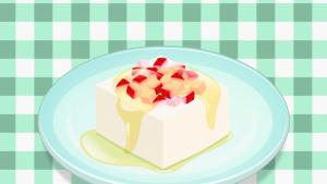 はちみつ豆腐いちご