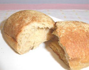 はるかのきなこパンの中