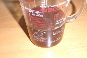 のりを煮出した汁の色