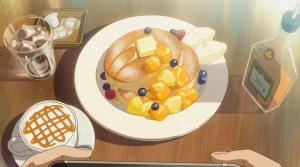 君の名はのパンケーキ(アニメ映像)