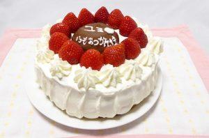 レナが作ったレガリアのイチゴケーキを再現