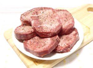 にく充1話のタン塩ステーキの再現