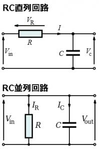 RC並列回路とRC直列回路