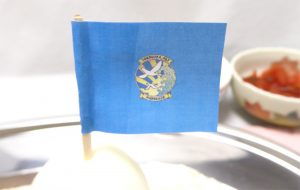 晴風カレーの旗