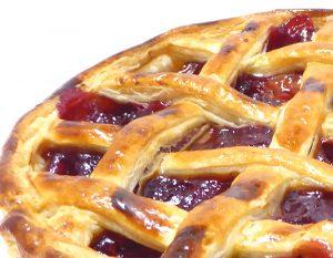 キルシュのパイの織り込み