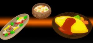 けものフレンズ7話アニメの料理画像