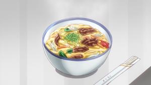 アニメ8話の他人丼