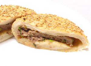 肉汁いっぱいのフージャオピンの中身のリアル再現画像