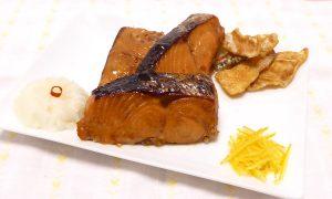 時鮭(トキシラズ)の幽庵焼きを再現