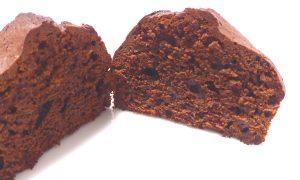 チョコカップケーキの中