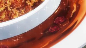 アニメの蜂蜜のソース