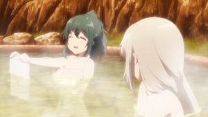 夕子先輩とニーナがお風呂