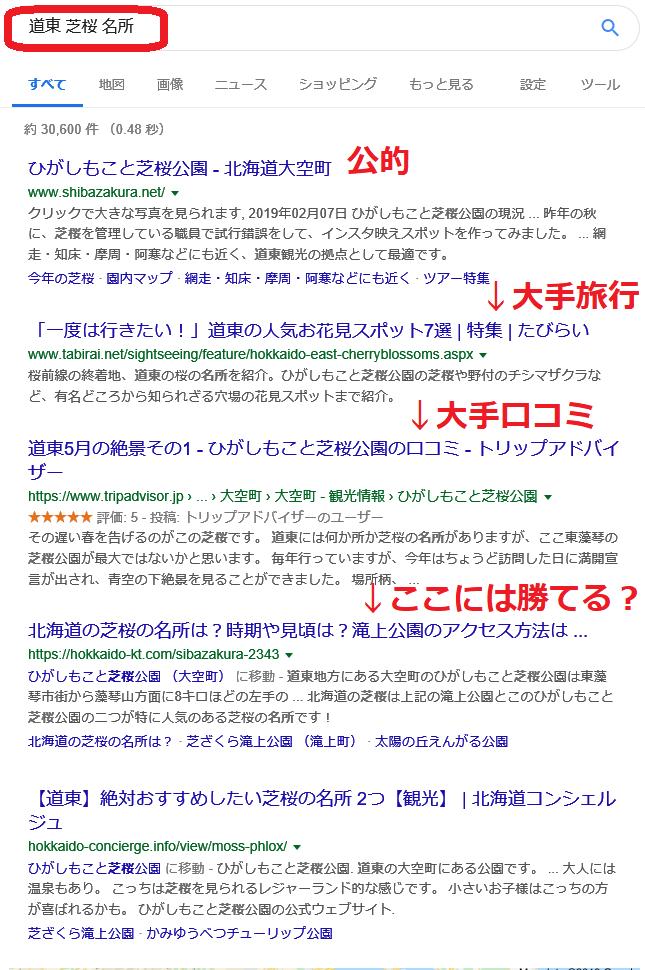 道東 芝桜 名所で検索