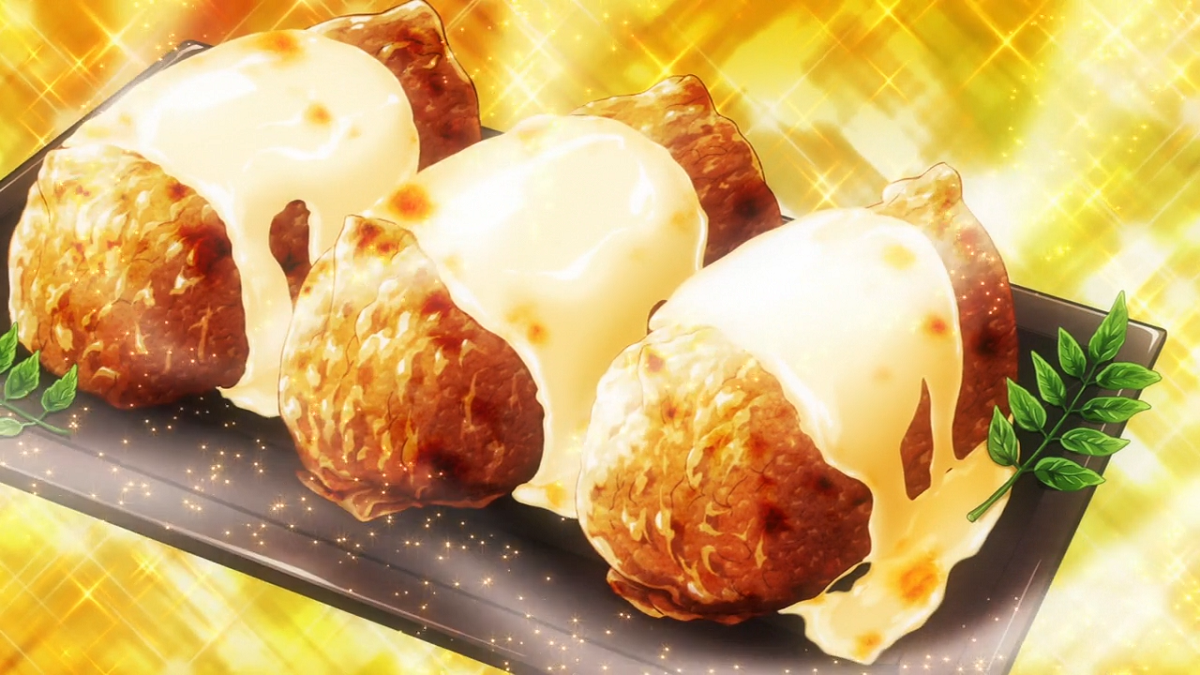 アニメのバターピラフ稲荷寿司
